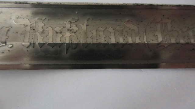 Sabre du 6ème cuirassier à lame gravée Img_6224