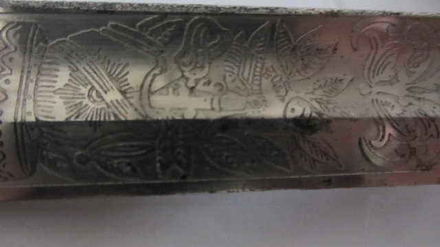 Sabre du 6ème cuirassier à lame gravée Img_6226