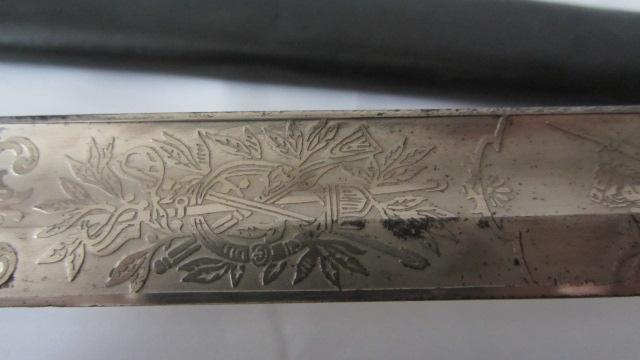 Sabre du 6ème cuirassier à lame gravée Img_6228
