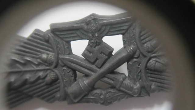 """Barrette des corps à corps bronze """"FLL"""" sans contre-plaque Img_6322"""