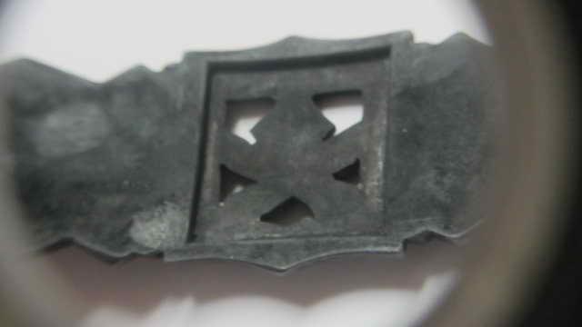 """Barrette des corps à corps bronze """"FLL"""" sans contre-plaque Img_6323"""