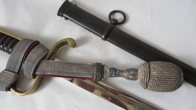 sabre d'officier d'infanterie bavarois à devise gravée Img_6451
