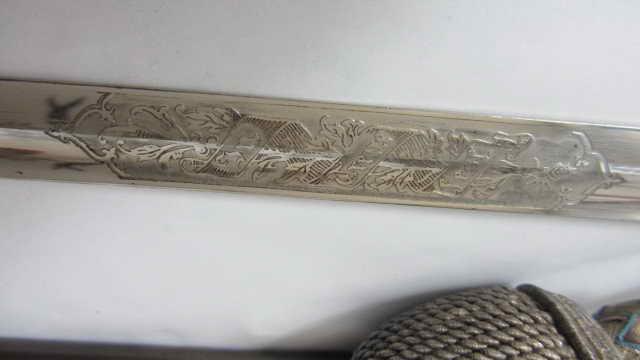 sabre d'officier d'infanterie bavarois à devise gravée Img_6454