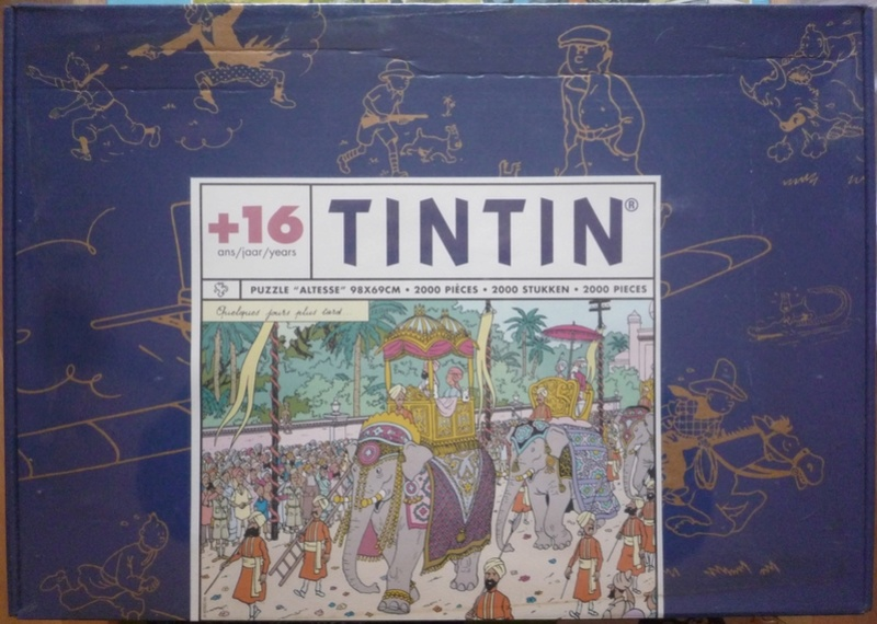 Les acquisitions de PuzzlesBD Tintin10