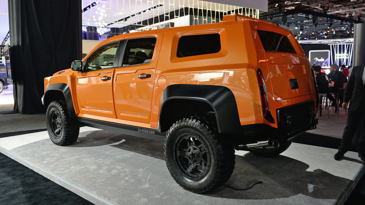 VLF Automotive X-Series remplacant du Hummer  03-vlf10