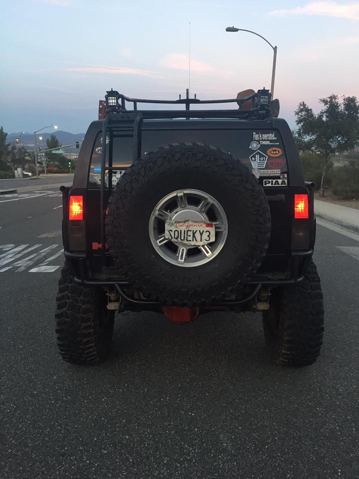 Le Hummer H3 est taillé pour l'aventure ! 16681510
