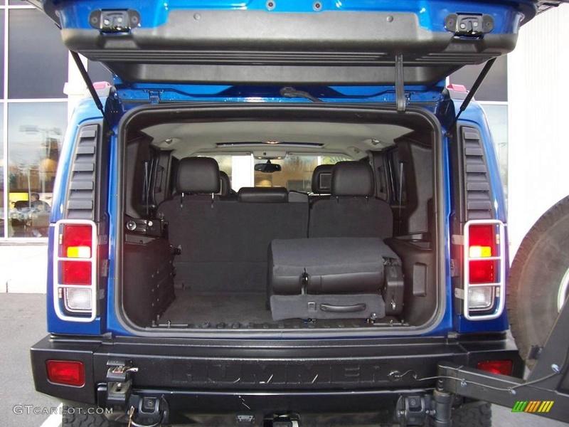 Connaissiez vous le Hummer H2 2006 Pacific Blue SUV ? vue par le Club Hummerbox cette édition très limitée 70432110
