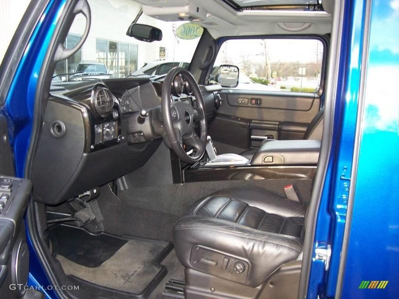 Connaissiez vous le Hummer H2 2006 Pacific Blue SUV ? vue par le Club Hummerbox cette édition très limitée 70432210
