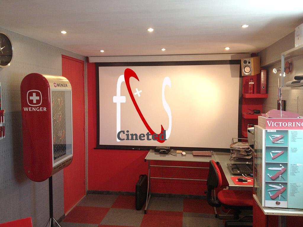 Le SHOWROOM de CINETED Ecran10