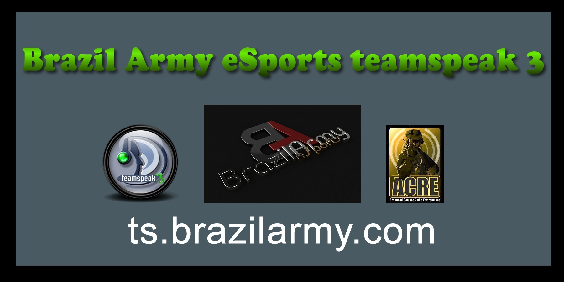 Brazil Army eSports - Arma II - Portal St3_bo11