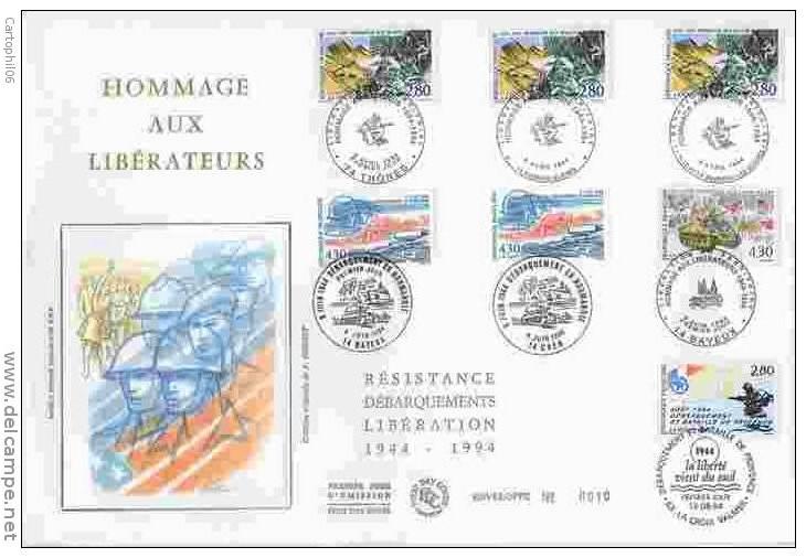 6 juin 1944, Bataille de Normandie et Libération. 579_0010