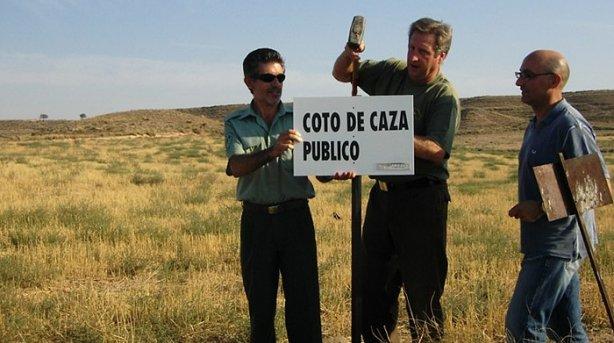 Piden aplazar la obligatoriedad de guarda en los cotos de caza en Navarra Coto-d10