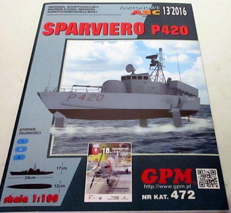 Sparviero P420, GPM, 1/100 gebaut von Helmut D. Img_0930