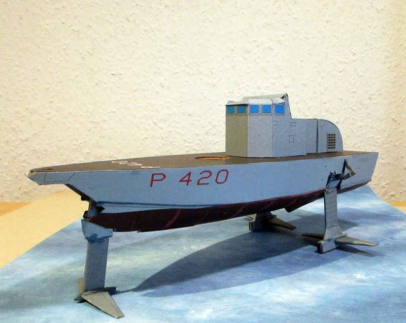 Sparviero P420, GPM, 1/100 gebaut von Helmut D. Sparvi19