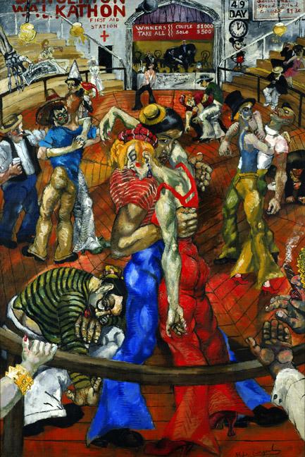 La Peinture américaine des années 1930 (musée de l'Orangerie) 110