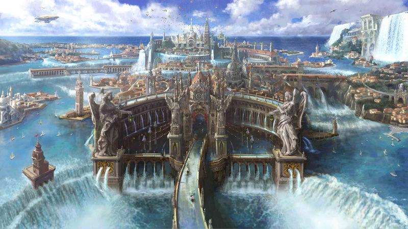 Arcadia, die Stadt auf dem Wasser Altiss10