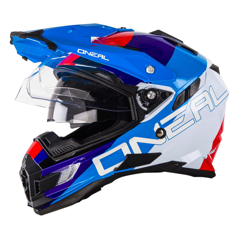 Casque moto-cross pare-soleil integre 0815-311