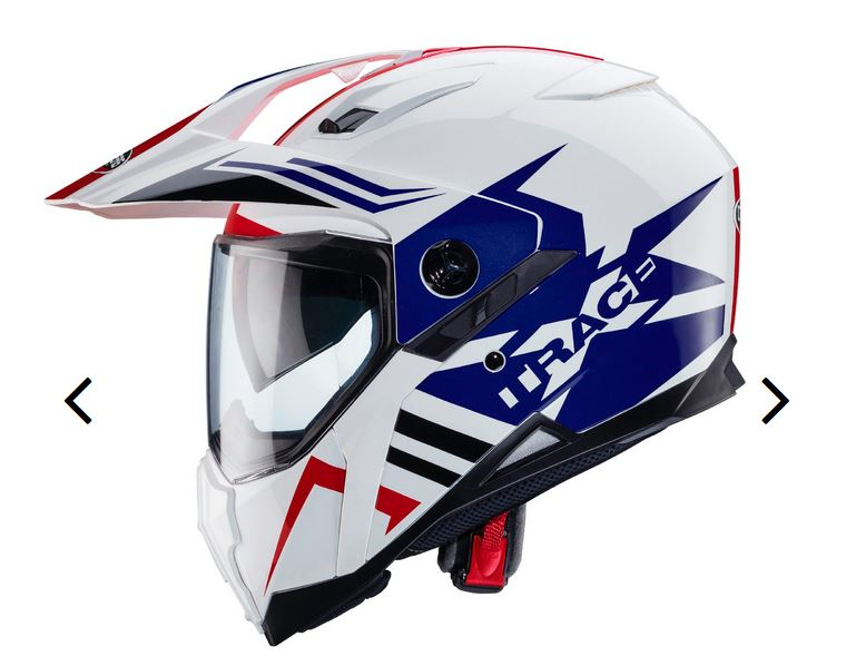 Casque moto-cross pare-soleil integre Captur10