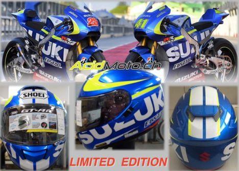 Casque Shoei GT-Air Suzuki GP Edition Shoei-10