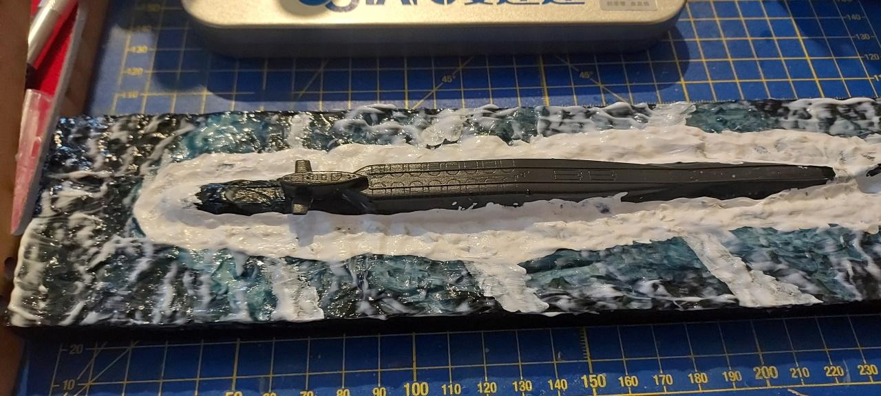 SSBN Delta III 1/700 OKB (Военно-морской флот СССР, Voyenno-morskoy flot SSSR) 20210712