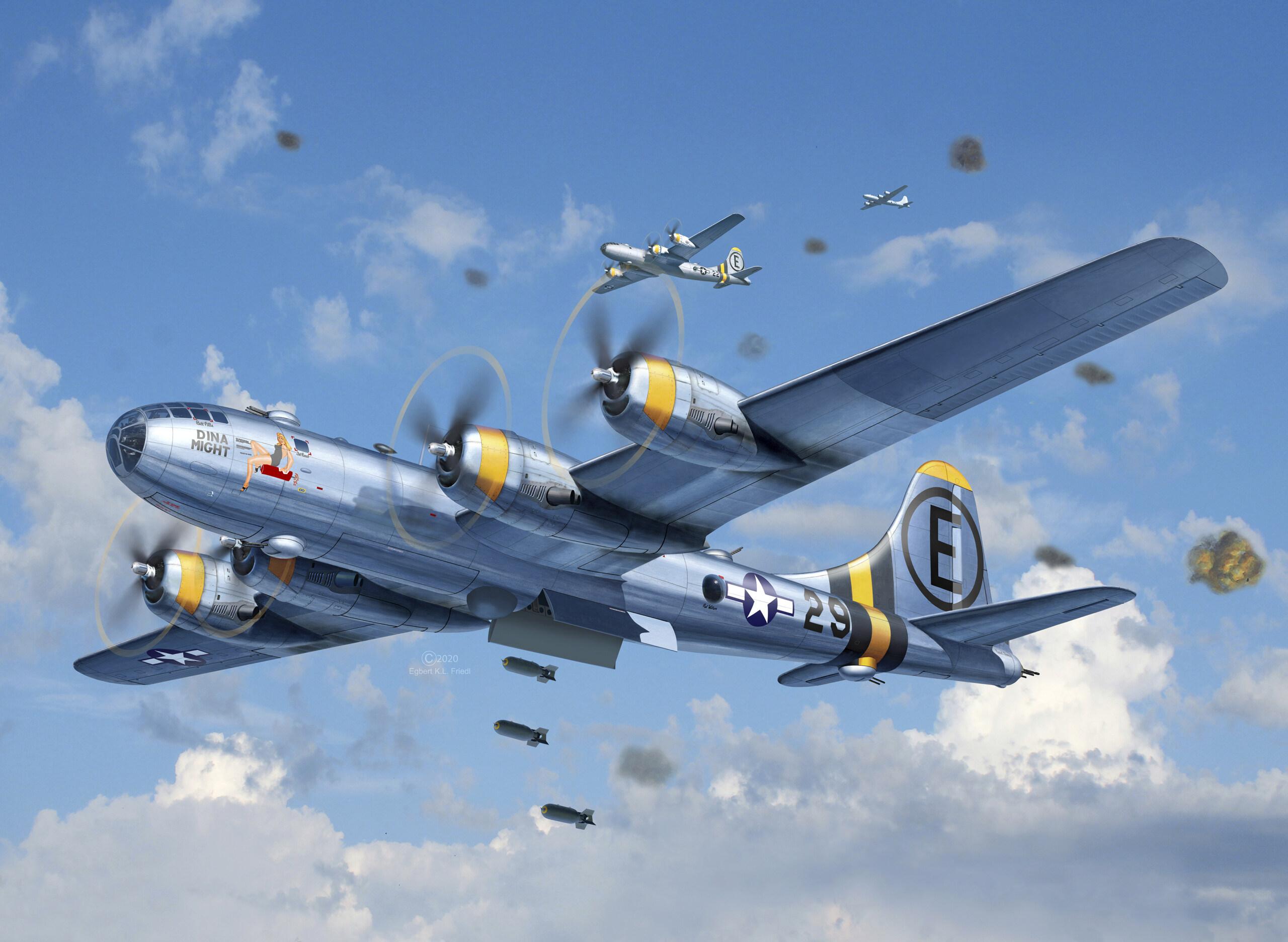B-29 Superfortress 1/48 Platinum Edition B29_110