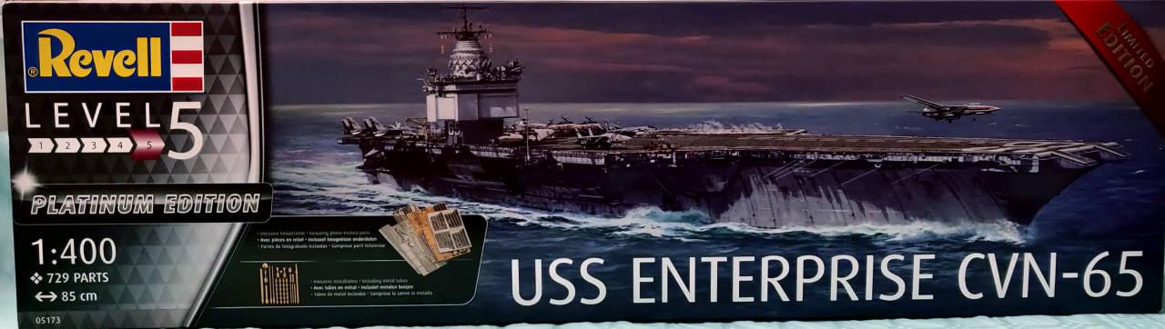 USS Enterprise (CVN-65) 1/400 PLATINUM Edition Cvan-610