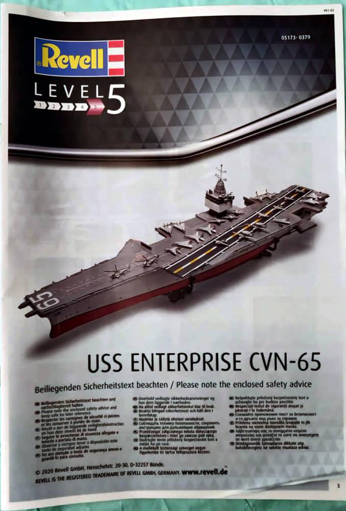 USS Enterprise (CVN-65) 1/400 PLATINUM Edition Cvan-611