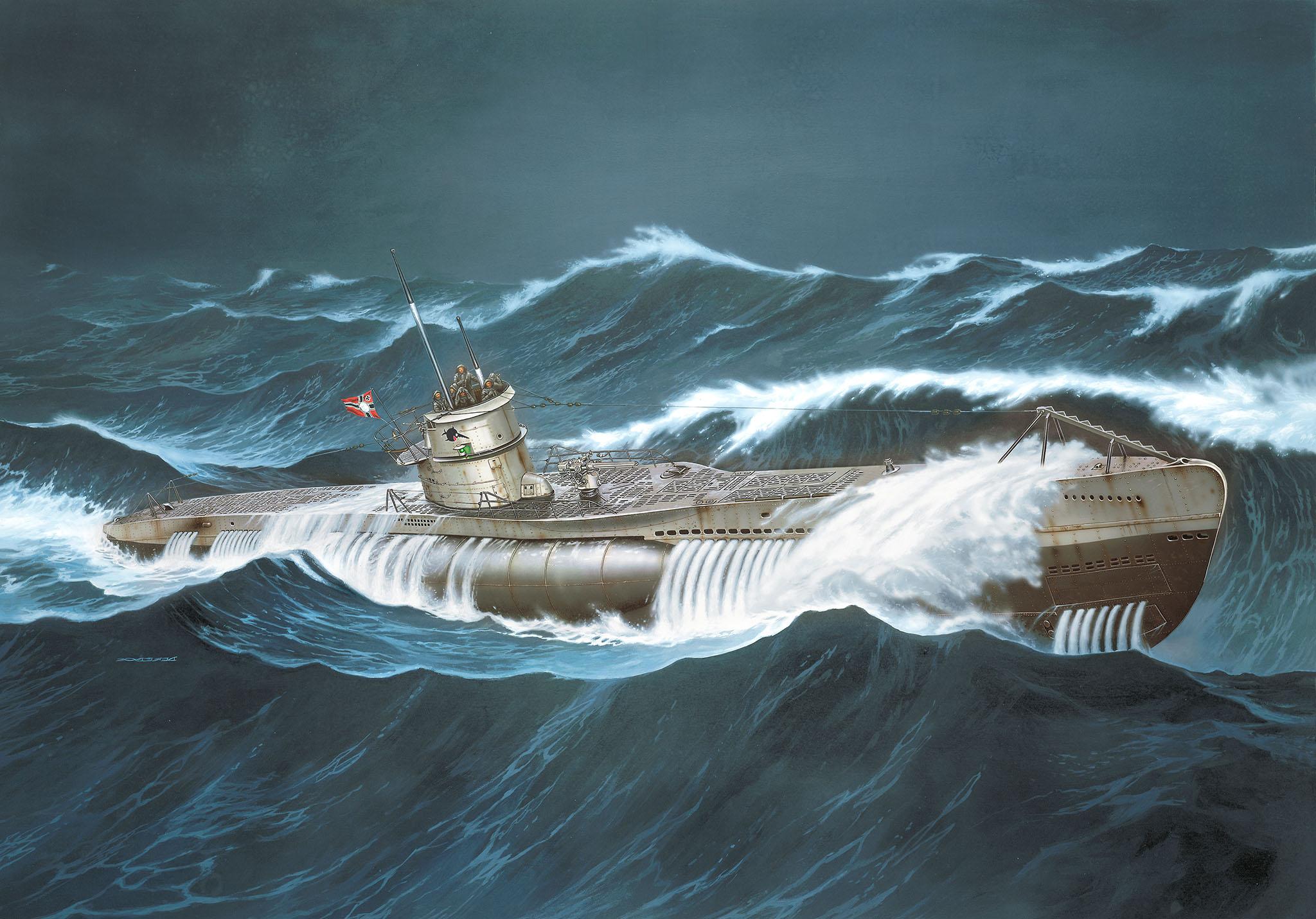 Das Boot U-Boot Typ VII C Dasboo11
