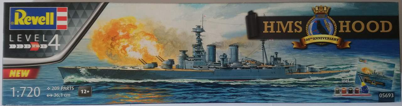 HMS HOOD 1/720 Revell Hood_110