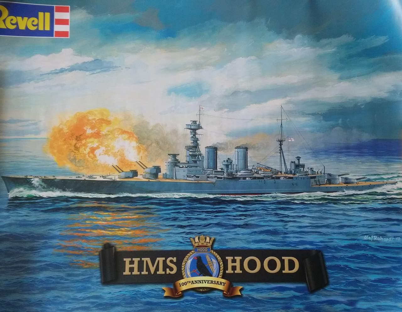 HMS HOOD 1/720 Revell Hood_217