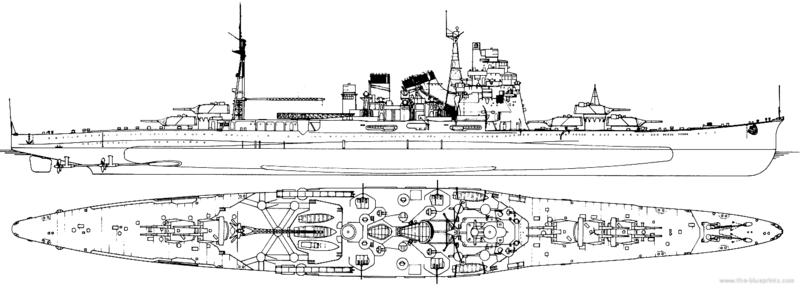 Croiseur TAKAO 1944 1/700 Pit-Road Ijn-ta10