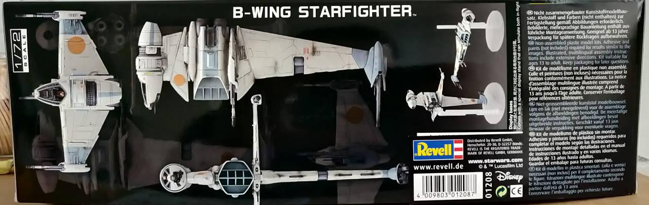 B-Wing Starfighter | 1:72 Img_2121