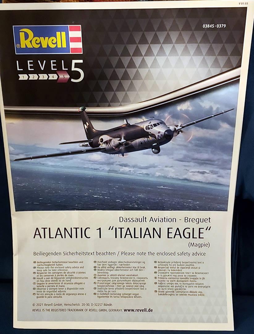"""Breguet Atlantic 1 """"Italian Eagle"""" Italia15"""