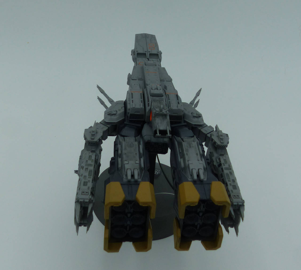 "Super Dimension Fortress 1 [SDF-1] 1/4000 ""Macross : Do you remember Love ?"" Sdf1_510"