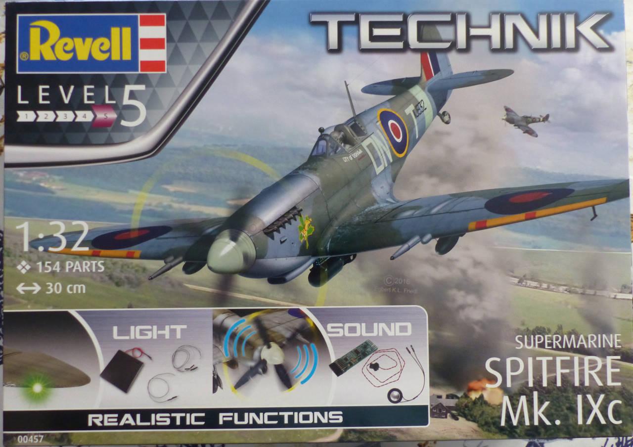Spitfire MK.IXc 1/32 TECHNIK Spitfi12