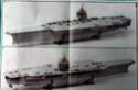 USS Enterprise (CVN-65) 1/400 PLATINUM Edition Cvan-683