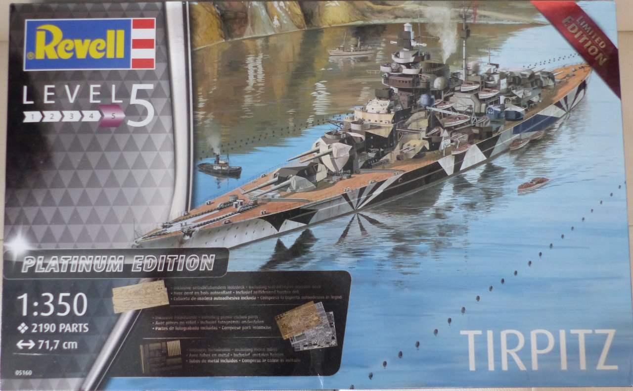 TIRPITZ 1/350 Platinum Edition   Tirp0b10