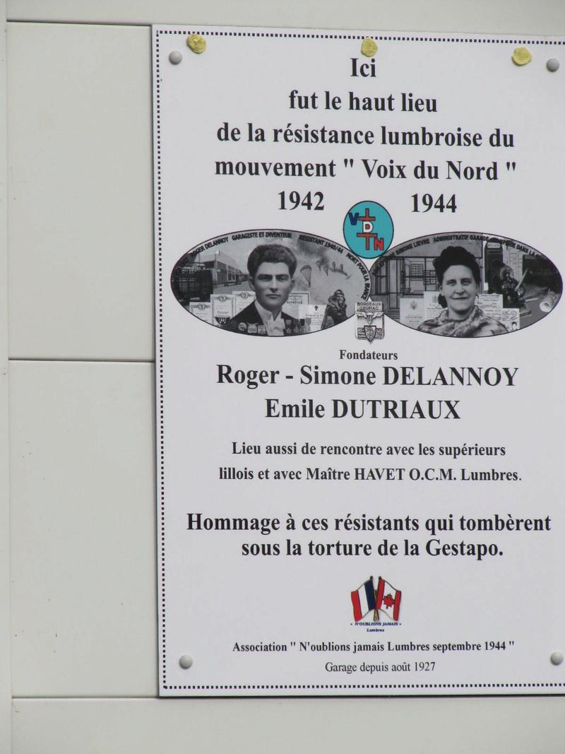pose plaque famille Delannoy à LUMBRES Img_2711