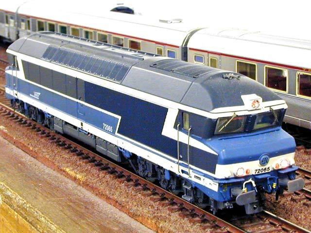 Locomotives Diesel Jf858610