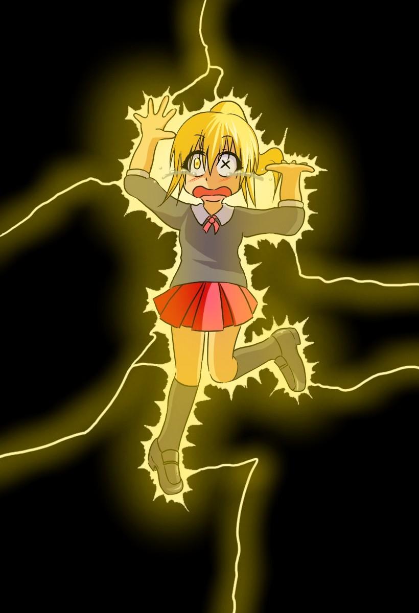 J'aime électrocuter les filles et je vous emmerde ! 49349013