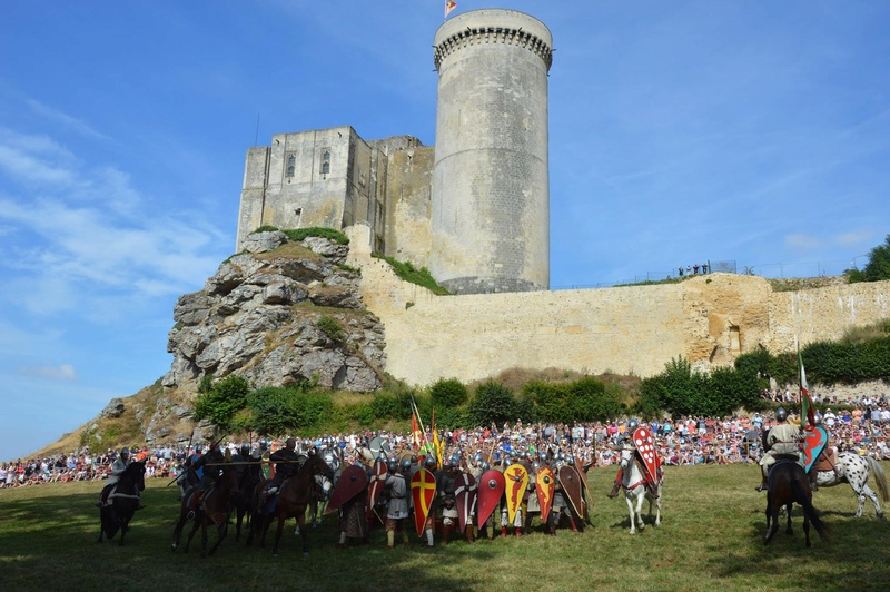 Chateau de Guillaume le Conquérant Falaise Août 2016 13925510