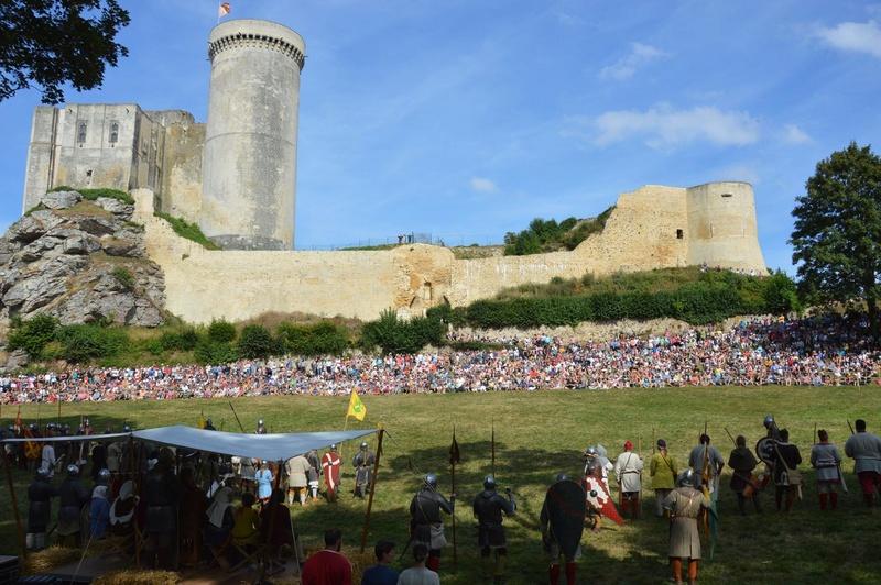 Chateau de Guillaume le Conquérant Falaise Août 2016 13937810