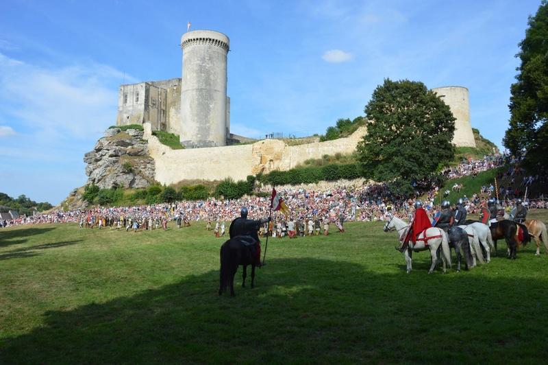 Chateau de Guillaume le Conquérant Falaise Août 2016 14066210