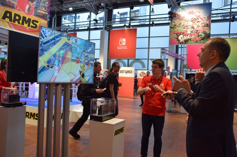 Nintendo Switch - Eindrücke nach dem Hands-on-Event Dsc_0710
