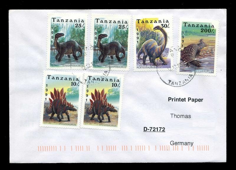 Paleophilatelie: Paläontologie und Philatelie  - Seite 2 Tanzan11