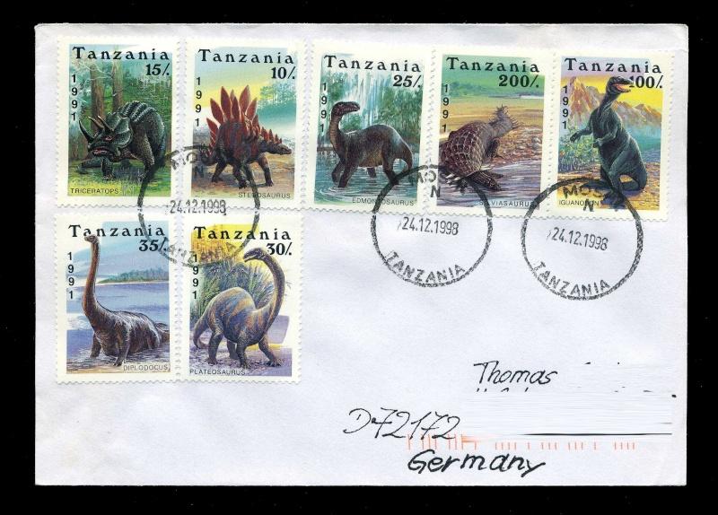 Paleophilatelie: Paläontologie und Philatelie  - Seite 2 Tanzan12