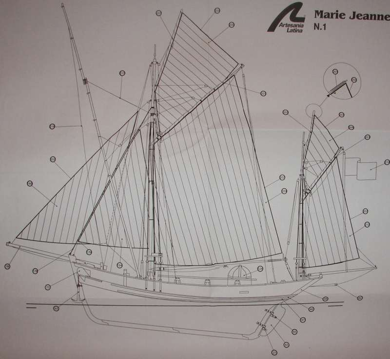 Thonier Marie-Jeanne (Billing Boats 1/50°) par jojo5 - Page 6 Inclin10