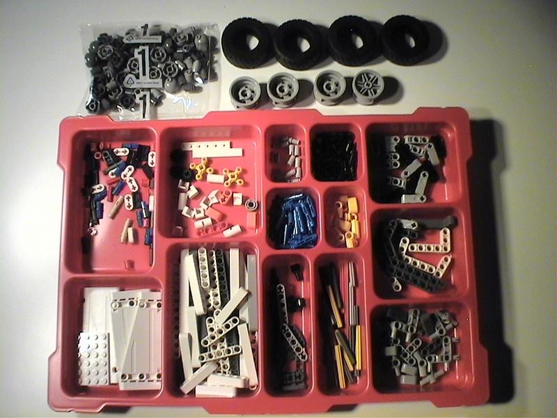 Der Schaufelradbagger von LEGO-Technik gebaut von Alo  Dvc04411