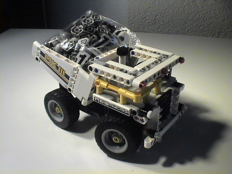 Der Schaufelradbagger von LEGO-Technik gebaut von Alo  Dvc04412