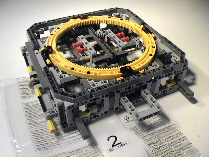 Der Schaufelradbagger von LEGO-Technik gebaut von Alo  Dvc04414